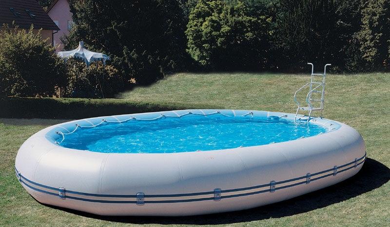 La piscine gonflable