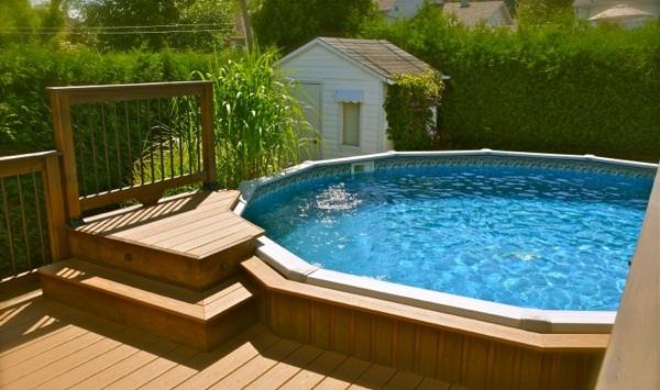 installer une piscine dans sa propri t quel mod le choisir plan de maison. Black Bedroom Furniture Sets. Home Design Ideas