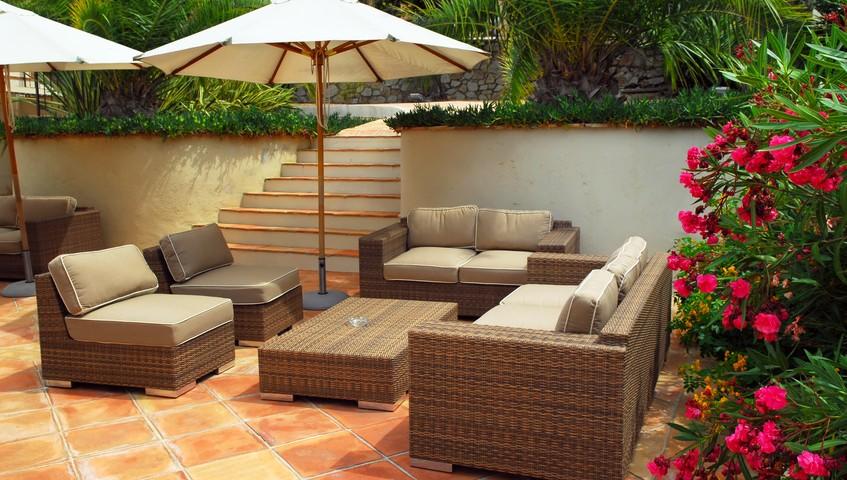 Aménagement d'un jardin en terrasse