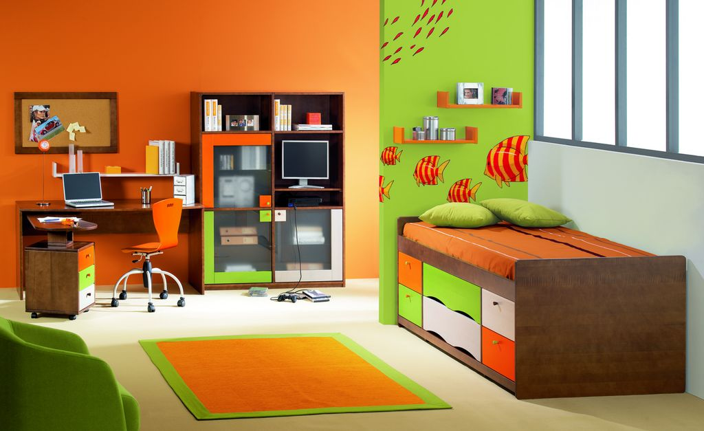 organiser la chambre d un enfant l essentiel plan de maison. Black Bedroom Furniture Sets. Home Design Ideas