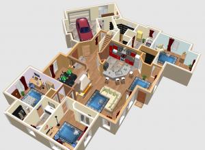 Logiciels pour faire un plan de maison plan de maison - Faire plan maison 3d ...