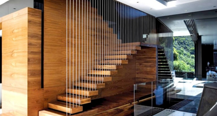 Stunning escalier d interieur design images lalawgroup for Escalier interieur maison
