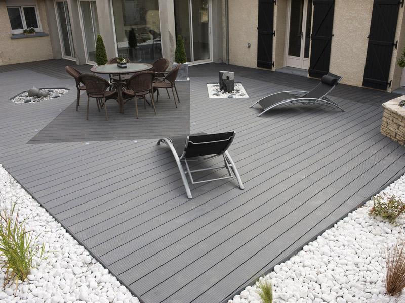 Créer une terrasse : pourquoi opter pour la lame composite ? – Plan ...