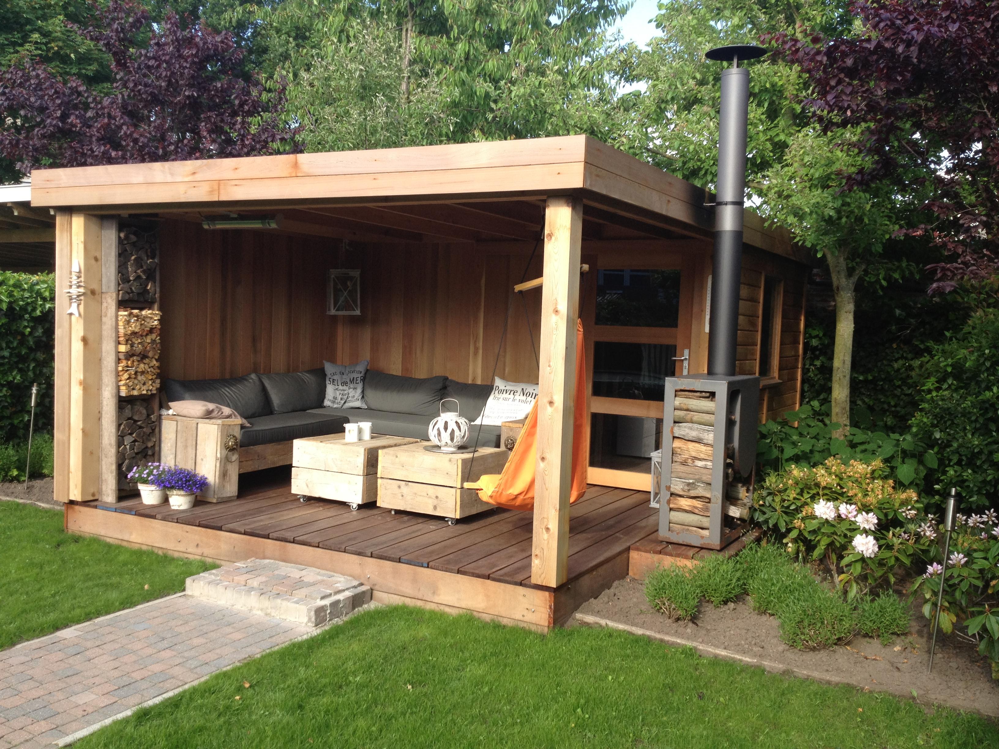 Quel mat riau choisir pour l abri de votre jardin plan for Cendre de bois pour le jardin