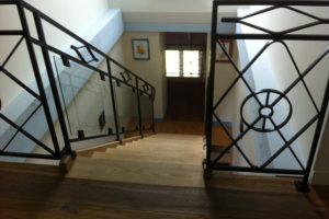 balustrade qu en est il du garde corps escalier plan. Black Bedroom Furniture Sets. Home Design Ideas