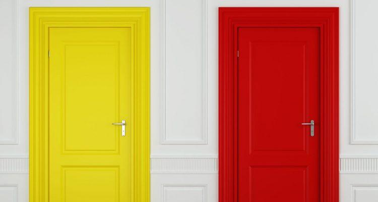 d co petit prix twistez vos portes avec de la peinture. Black Bedroom Furniture Sets. Home Design Ideas