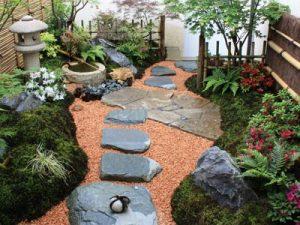 am nager un jardin japonais un charme botanique. Black Bedroom Furniture Sets. Home Design Ideas