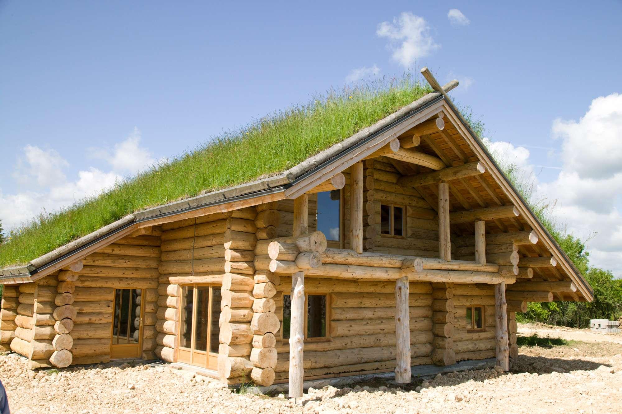 Construire une maison en bois les avantages plan de maison for Maison en bois image